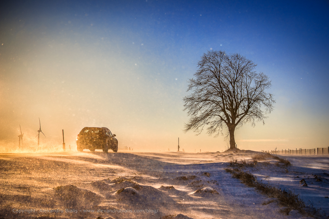 Privește fotografic chiar și spre soare