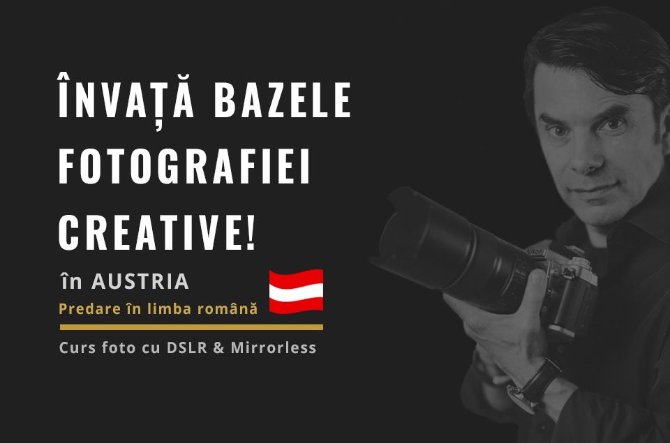 Curs foto în Austria în limba română cu Alexandru Bialis