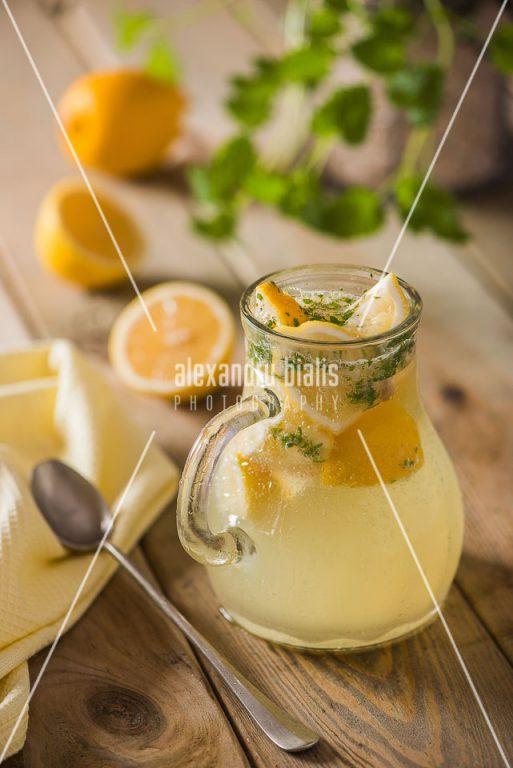 fotografie-culinara-Limonada cu menta