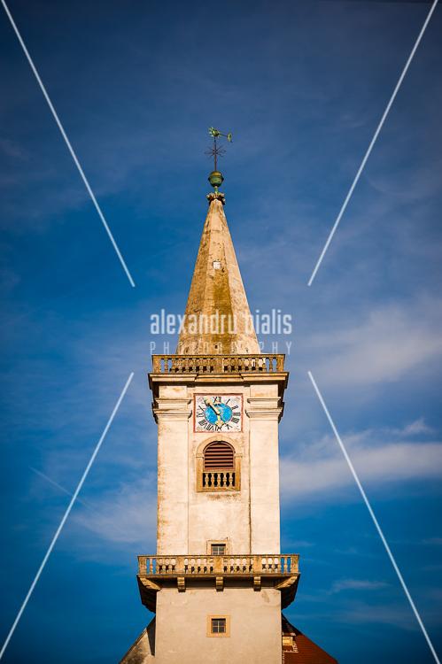personal-work-Katholiche Pharrkirche Rust am See -Turm-Austria