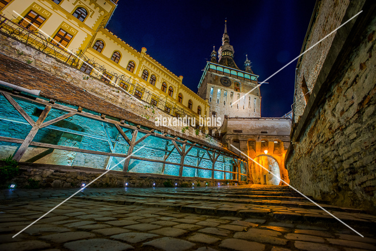 personal-work-Sighisoara by Night - Romania 101
